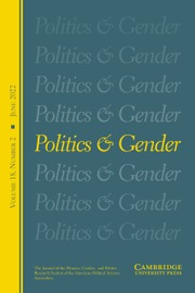 Politics & Gender cover art