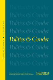 Politics & Gender Volume 10 - Issue 3 -