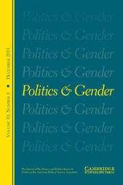 Politics & Gender Volume 10 - Issue 4 -