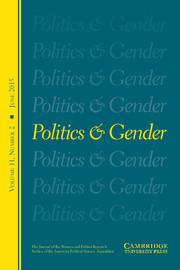 Politics & Gender Volume 11 - Issue 2 -