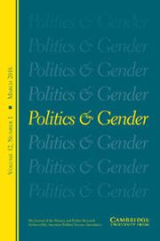 Politics & Gender Volume 12 - Issue 1 -