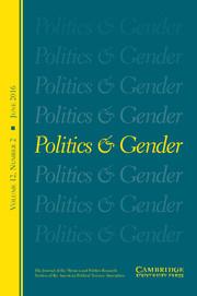 Politics & Gender Volume 12 - Issue 2 -