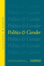 Politics & Gender Volume 12 - Issue 3 -