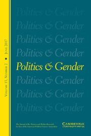 Politics & Gender Volume 13 - Issue 2 -