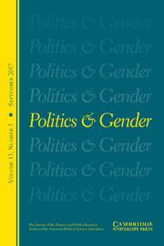 Politics & Gender Volume 13 - Issue 3 -