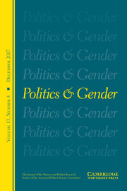 Politics & Gender Volume 13 - Issue 4 -