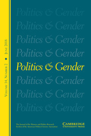 Politics & Gender Volume 14 - Issue 2 -