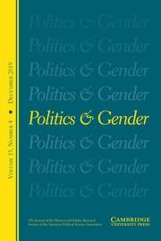 Politics & Gender Volume 15 - Issue 4 -