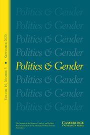 Politics & Gender Volume 16 - Issue 3 -
