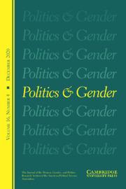 Politics & Gender Volume 16 - Issue 4 -