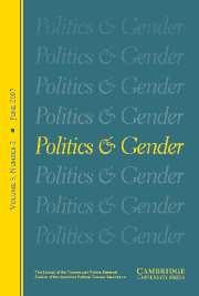 Politics & Gender Volume 3 - Issue 2 -