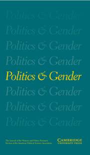 Politics & Gender Volume 4 - Issue 1 -