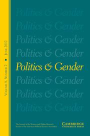 Politics & Gender Volume 8 - Issue 2 -