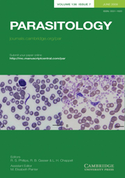 Parasitology Volume 136 - Issue 7 -