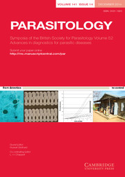 Parasitology Volume 141 - Issue 14 -  Symposia of the British Society for Parasitology Volume 52 Advances in diagnostics for parasitic diseases