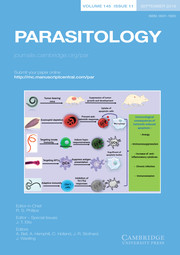 Parasitology Volume 145 - Issue 11 -