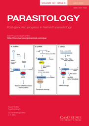 Parasitology Volume 147 - Special Issue8 -  Post-genomic progress in helminth parasitology