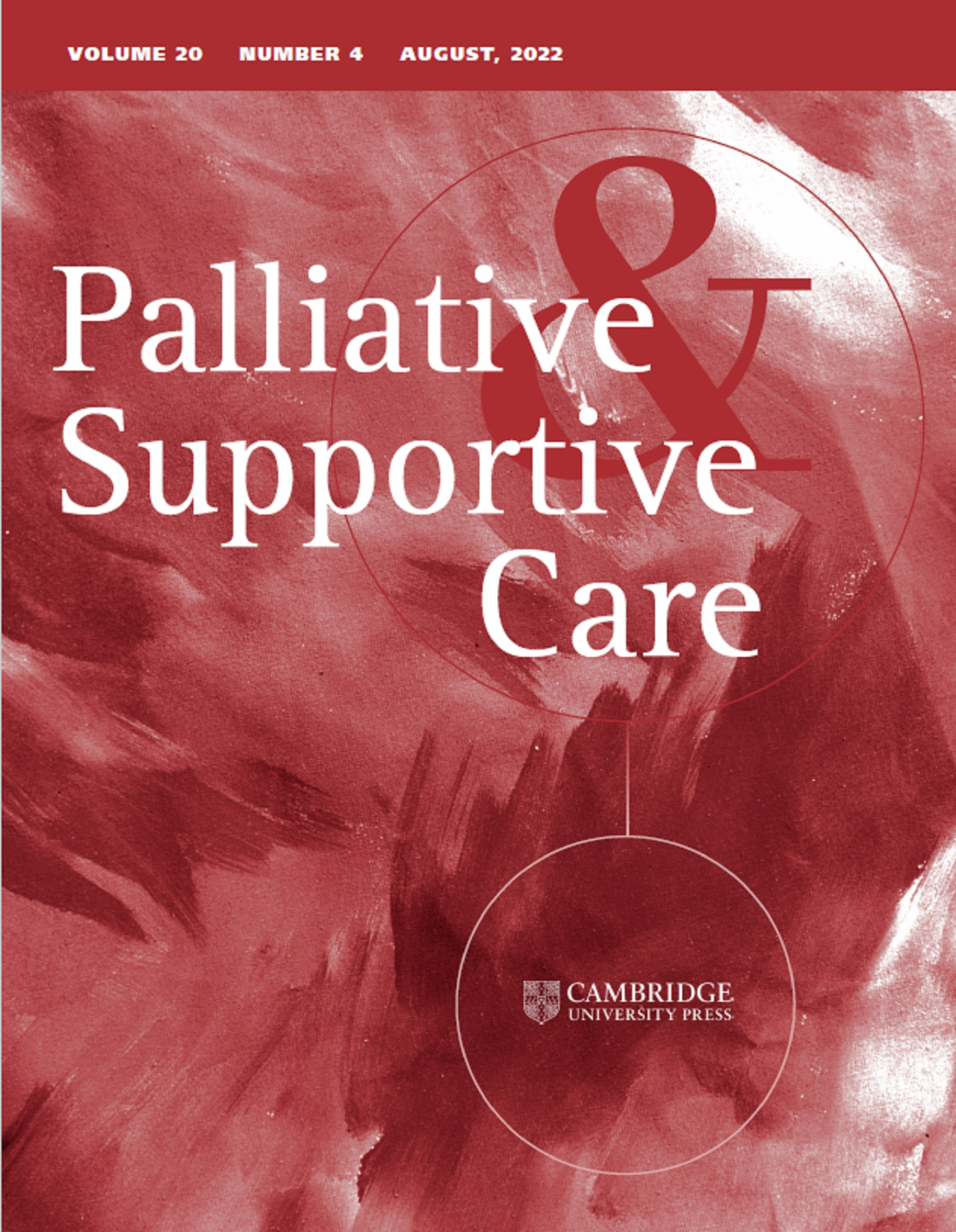 palliative supportive care cambridge core