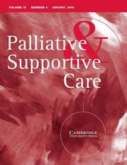 Palliative & Supportive Care Volume 17 - Issue 4 -