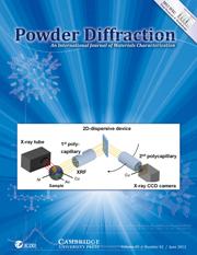 Powder Diffraction Volume 27 - Issue 2 -