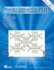 Powder Diffraction Volume 28 - Issue 2 -