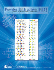 Powder Diffraction Volume 29 - Issue 4 -
