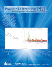 Powder Diffraction Volume 30 - Issue 3 -