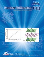 Powder Diffraction Volume 31 - Issue 3 -
