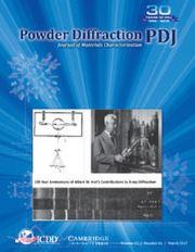Powder Diffraction Volume 32 - Issue 1 -