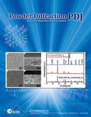 Powder Diffraction Volume 33 - Issue 2 -