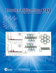 Powder Diffraction Volume 33 - Issue 3 -