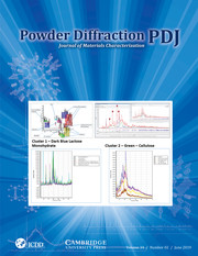 Powder Diffraction Volume 34 - Issue 2 -