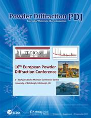 Powder Diffraction Volume 34 - SupplementS1 -