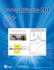 Powder Diffraction Volume 35 - Issue 3 -