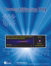 Powder Diffraction Volume 35 - SupplementS1 -