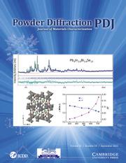 Powder Diffraction Volume 36 - Issue 3 -