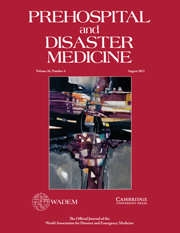 Prehospital and Disaster Medicine Volume 26 - Issue 4 -