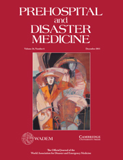 Prehospital and Disaster Medicine Volume 26 - Issue 6 -