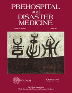 Prehospital and Disaster Medicine Volume 27 - Issue 4 -