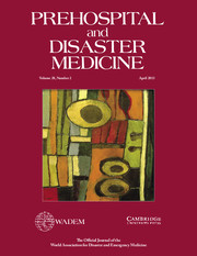 Prehospital and Disaster Medicine Volume 28 - Issue 2 -