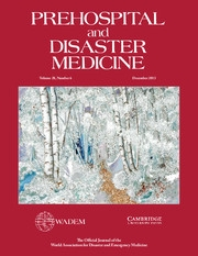 Prehospital and Disaster Medicine Volume 28 - Issue 6 -