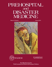 Prehospital and Disaster Medicine Volume 29 - Issue 1 -