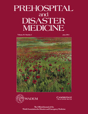 Prehospital and Disaster Medicine Volume 29 - Issue 3 -