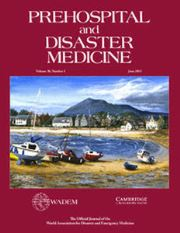 Prehospital and Disaster Medicine Volume 30 - Supplement3 -