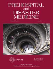 Prehospital and Disaster Medicine Volume 31 - Supplement3 -