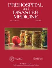 Prehospital and Disaster Medicine Volume 31 - Issue 5 -