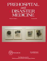 Prehospital and Disaster Medicine Volume 32 - Issue 6 -