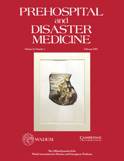 Prehospital and Disaster Medicine Volume 33 - Issue 1 -