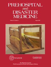 Prehospital and Disaster Medicine Volume 33 - Issue 4 -