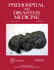 Prehospital and Disaster Medicine Volume 34 - Issue 1 -